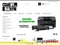 Czarny na bialym - Zamiennik do drukarki
