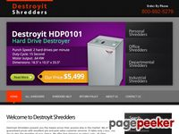 Destroyit-shredders.com - Destroyit-Shredders | Home