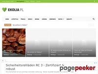ekolia.pl - darmowe porady z ochrony środowiska