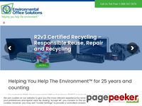 Eosusa.com - R2 Certified Toner Ink and Print Cartridge Recycling Environmental Office Solutions |