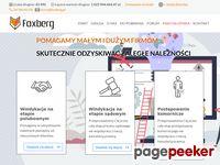 FOXBERG - Windykacja należności