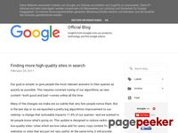 http://googleblog.blogspot.com/2011/02/finding-more-high-quality-sites-in.html