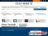 Gulfnews.com - Dubai News, Abu Dhabi News, UAE News and International News from GulfNews.com – plus Gold rates, sport scores, city guides, prayer times, Dubai financial data, weather forecasts and more