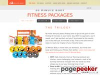 Fitness Packages - 20 Minute Body