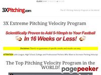 3X Pitching - A Revolutionary Approach to Pitching Velocity