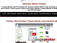 eBook Creator Software – Ultimate eBook Creator For Amazon Kindle
