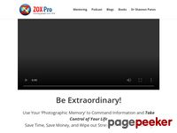 ZOX Pro Training – Free Your Mind – Speed Reading – Photographic Memory