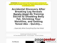 Amazing Abs Solution – Ab Training Secret to Shedding Belly Fat