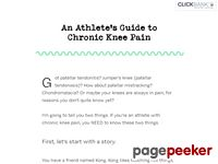 An Athlete's Guide to Chronic Knee Pain - anthony mychal
