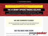 AutoBinarySignals.com - Binary Options Trading Solution