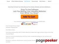 cPanel Website Backup Software - Backup Smart