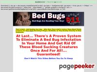 Eliminate Bed Bugs - Bed Bugs 911
