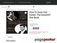 Grow Hair Faster – GrowOUT Diet Book