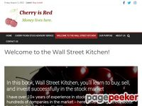 Welcome to the Wall Street Kitchen! - Cherry is Red