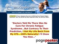 Chronic Fatigue Syndrome Cure – Chronic Fatigue Syndrome Solution