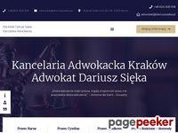 Kancelaria adwokacka Dariusz Sieka - Kraków
