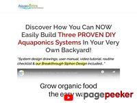 DIY Aquaponics 4 You Made Easy -
