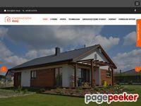 Domy kanadyjskie, budowa