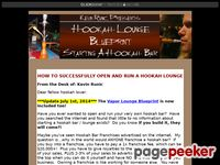 Hookah Bar Blueprint - How to Start a Hookah Bar