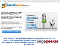 The Driving Fear Program – Overcome Your Fear of Driving Today!