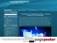 e-wynagrodzenie.pl   Czyli jak czerpać zysk z e-marketingu.