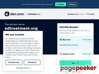 EDTreatment.org - Natural ED Cure