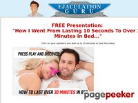 Last Over 30 Minutes In Bed Naturally – Ejaculation Guru