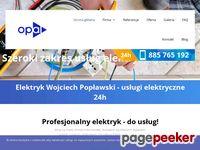 Usługi elektryczne Warszawa