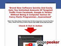 EZ Share Generator! Social Media Traffic Getting Software