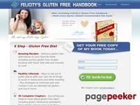 Gluten free diet, gluten free recipes, Felicity's Gluten Free Handbook