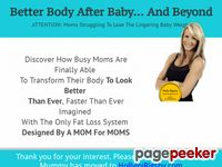 Losing Lingering Weight After Baby – Fit Yummy Mummy