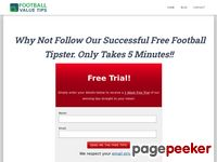 Football Value Tips - Profitable Football Betting Predictions