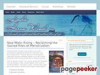 New Moon Rising – Reclaiming the Sacred Rites of Menstruation - Linda Heron-Wind