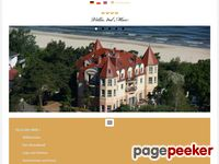 Villa del Mar - Ostsee-Strandhotel mit Meerblick