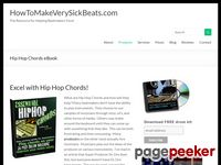 Hip Hop Chords Ebook by JFilt - Learn how to play chords on drum pads!