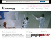 Inside-system - tynki maszynowe