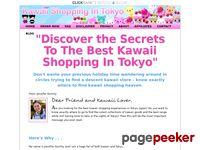 - Kawaii Shopping in Tokyo