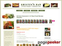 Kristen's Raw - Raw Recipe Ebooks