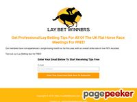 Lay Bet Winners – Lay Bet Winners – Lay Betting Tips