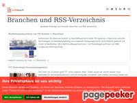 Linkbuch - Branchen und RSS-Verzeichnis
