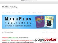 CHRISTmaths: A Creative Problem Solving Math Book – MathPlus Publishing