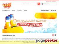 Oh-drink- napoje reklamowe z logo