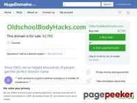 Old School Body Hacks
