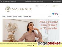 Kosmetyczki damskie - Oriente Glamour