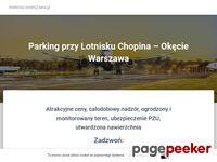 parking lotnisko Warszawa, parking lotnisko Okęcie