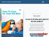How to Care for Your Pet Bird by Dr. Joel Murphy