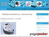 Przekładnia planetarna - blog branżowy