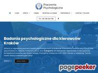 Badania psychotechniczne Kraków - psychotechnika, psychotesty