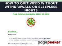 Quit Weed – How To Quit Marijuana With Seb Grant