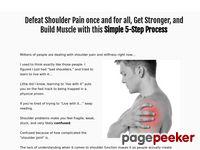 Fix Your Shoulder Pain - Simple Shoulder Solution